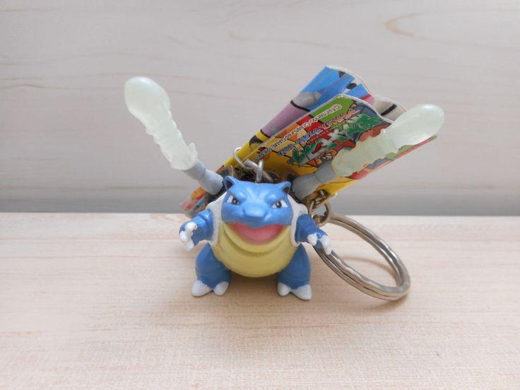 Pokemon Blastoise Figure Key Ring Nintendo Banpresto 2005 Rare #Banpresto