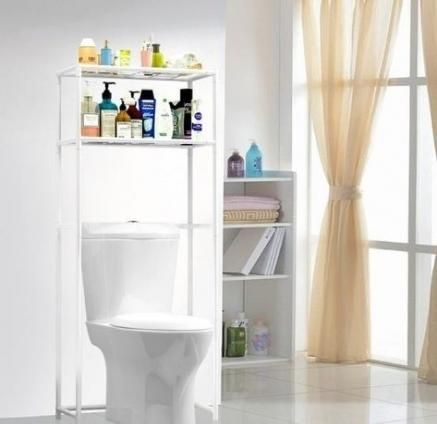 32+ Trendy Ideas For Bathroom Shelves Over Toilet Towel Holders Spaces   – {bathroom}