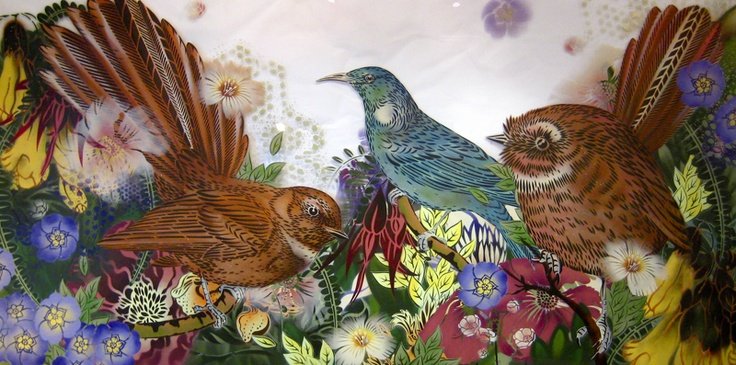 Birds by NZ artist Flox