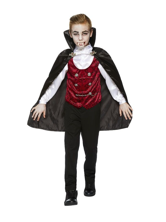 The 140 best halloween costume ideas images on pinterest halloween vampire costumes are a halloween classic pick up this kids vampire costume at partydelights solutioingenieria Image collections