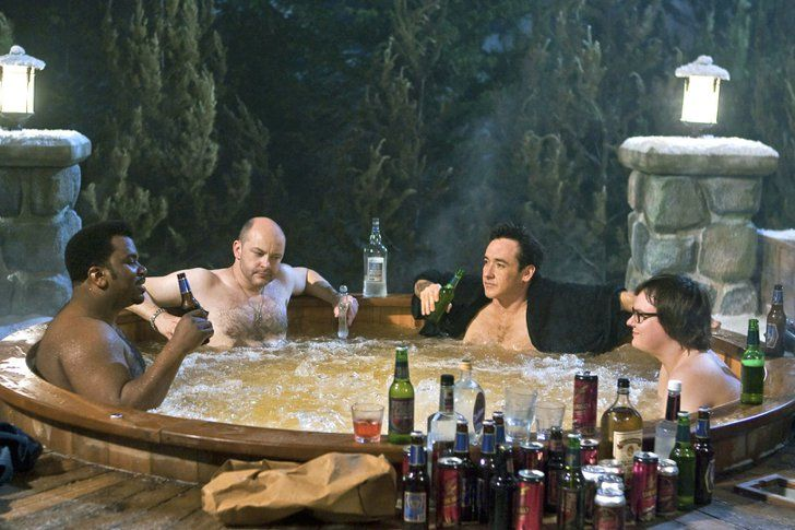 Pin for Later: What to Watch on Your Snow Day Hot Tub Time Machine