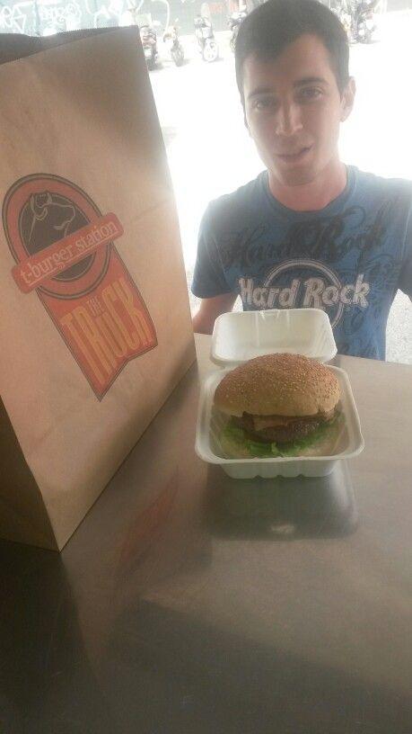 Il nostro bacon hamburger