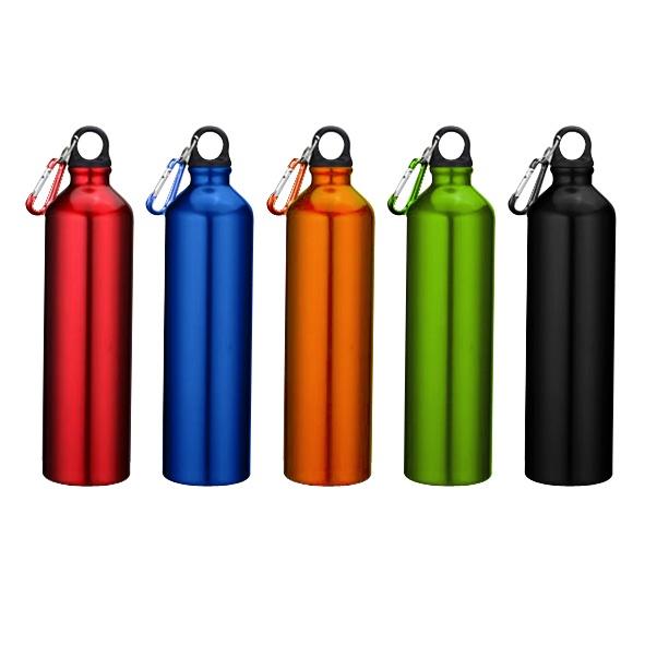 COD.TT022 Botella deportiva de aluminio. Para líquidos fríos (no térmico). Capacidad: 750 CC.