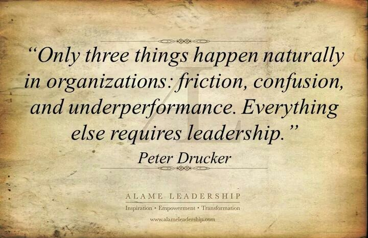 Organizations - Peter Drucker
