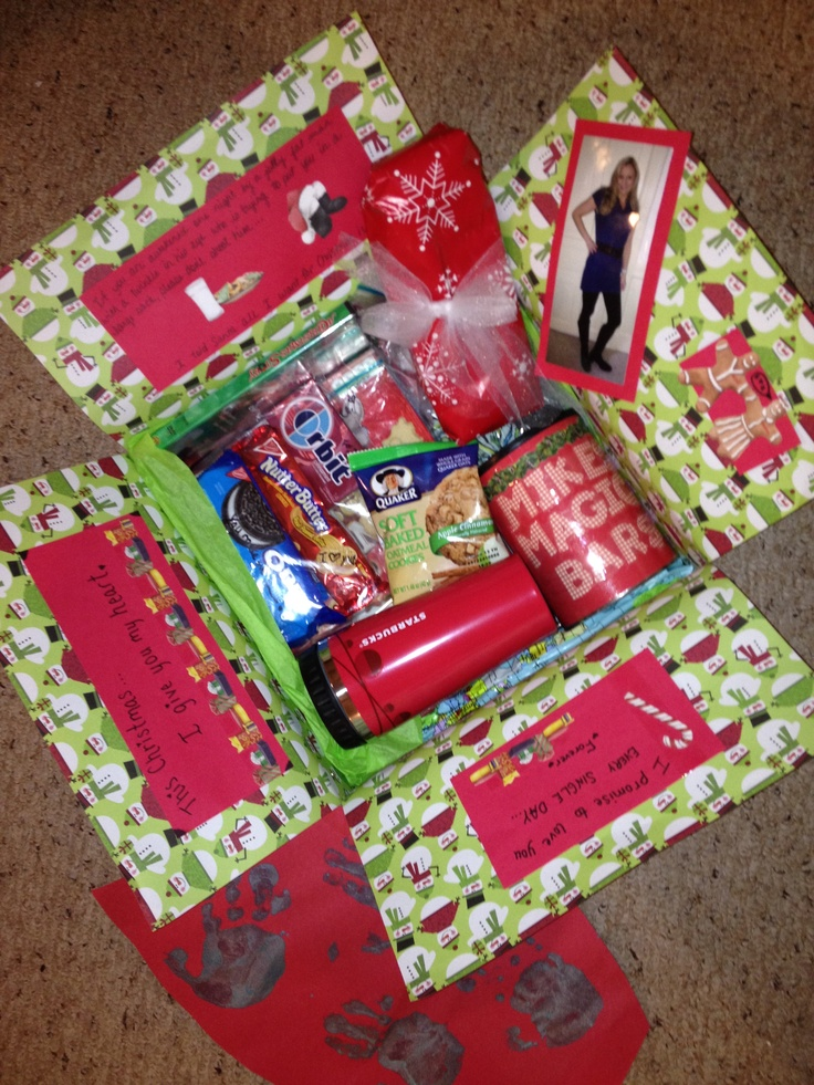 1000 images about care packages on pinterest the box - Christmas Care Package Ideas