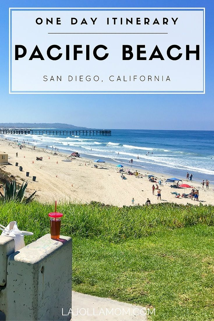A fun family itinerary for a day in San Diego's casual Pacific Beach neighborhood.