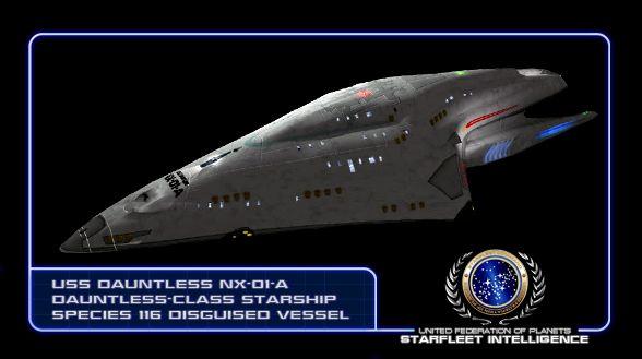 trek star dauntless uss starship starships voyager ships starfleet nx class intelligence federation enterprise space planets ship united startrek fighter