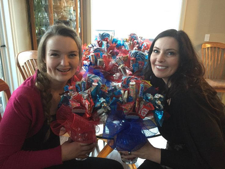 Another batch of Candy Bouquets ready for the Spring Rush!