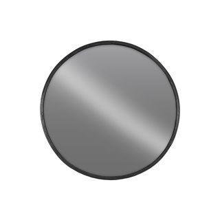 Urban Trends Collection Black Metal Large Round Wall Mirror | Overstock.com…