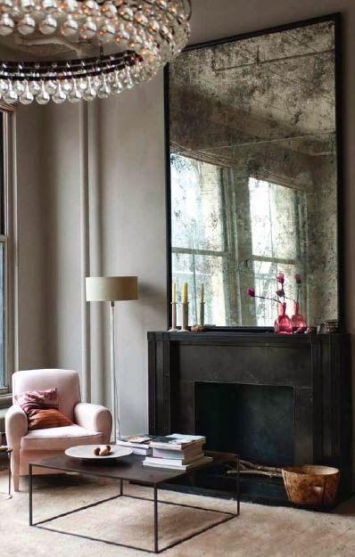 mirror / wall
