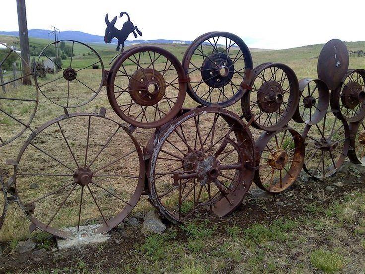 repurposed fence ideas   Fence Ideas