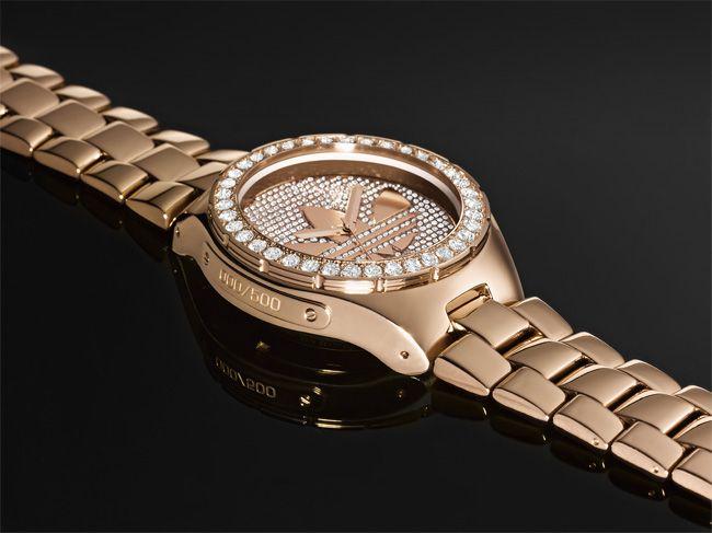 tolerancia Excluir Excepcional  adidas Originals Melbourne Limited Edition Watch | Rose gold ...