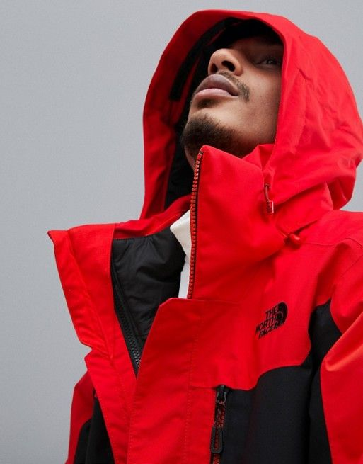 5f8b38a5a The North Face Clement Triclimate Jacket in Red in 2019 | SNOW ...