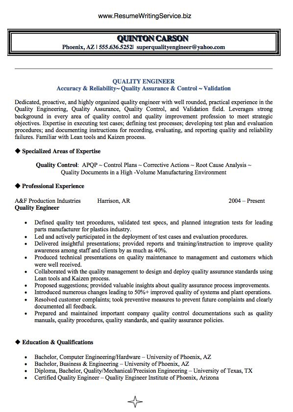 Best 25+ Engineering resume ideas on Pinterest Professional - quality assurance resume