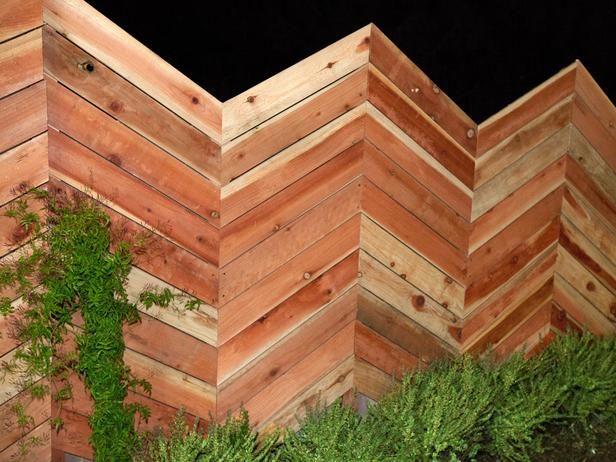 Britanys Herringbone Privacy Fence