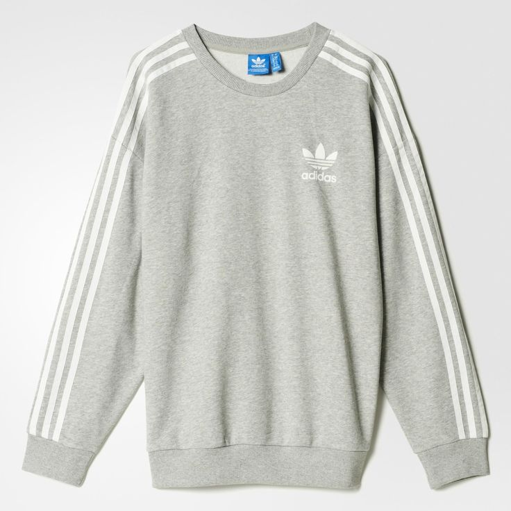 adidas Beckenbauer Sweatshirt - Grey | adidas US