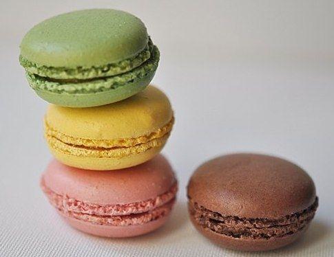 Фото к рецепту: Французские пирожные Макаруны