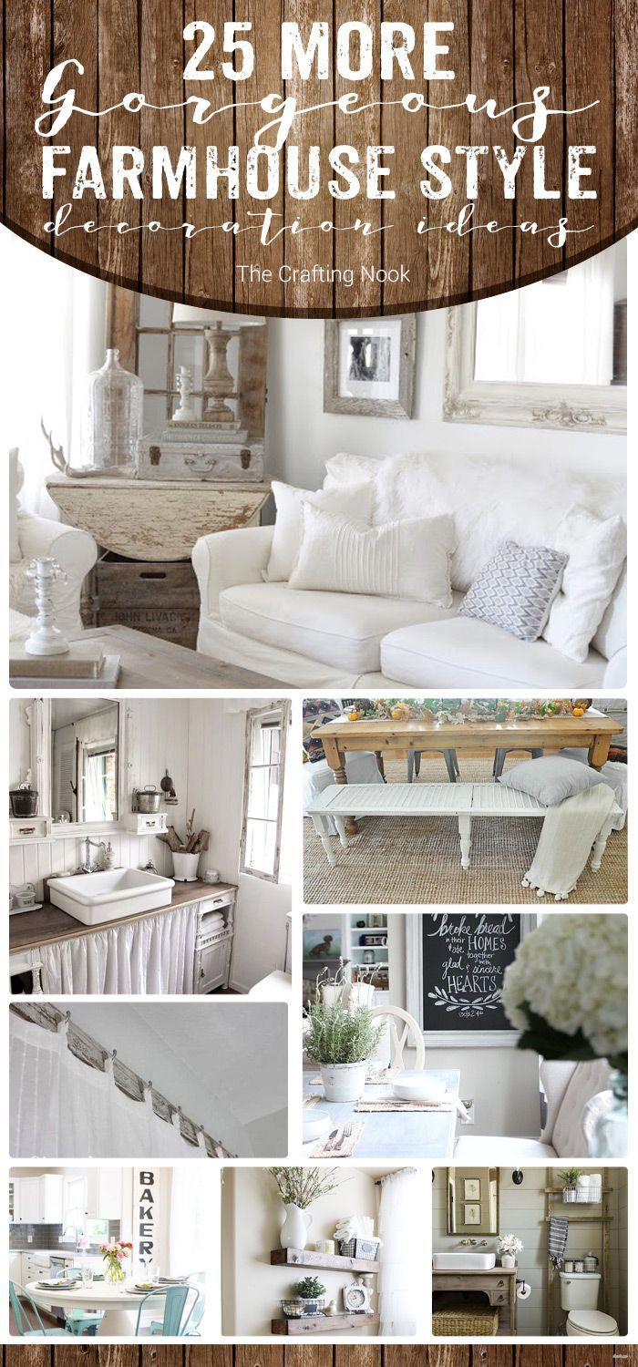 Addicted to Farmhouse Style yet? Either if you are or not, these 25 More…