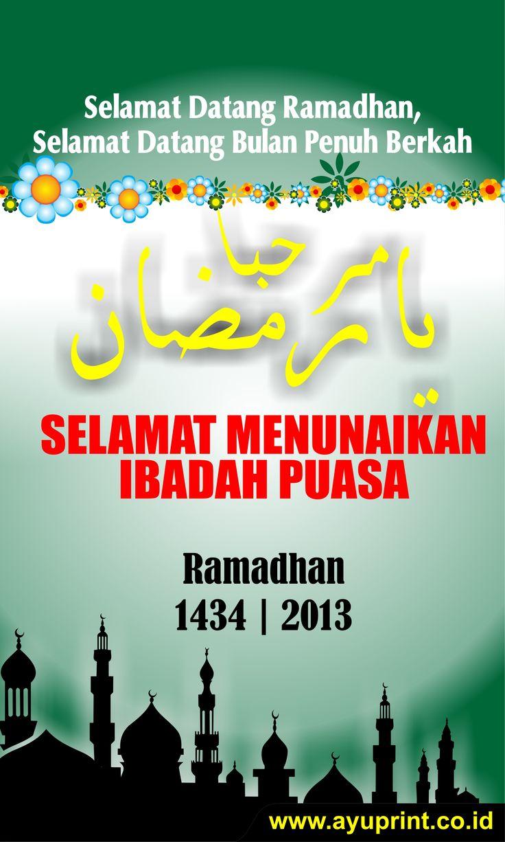 Download Gratis Desain Spanduk Menyambut Ramadhan Marhaban ...