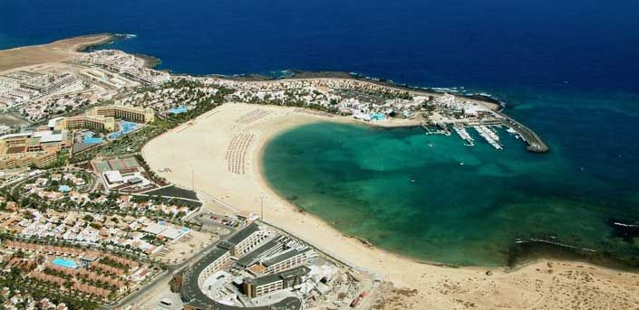 Caleta de Fuste Map of Hotels & Apartments - Streetfinder - Fuerteventura - Canary Islands