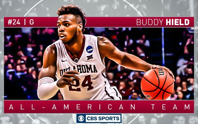 """""""CBS Sports 2015-16 College Basketball All-America Team, Coach of the Year."""" Guess who is at the top of the list? Buddy Buckets!"""