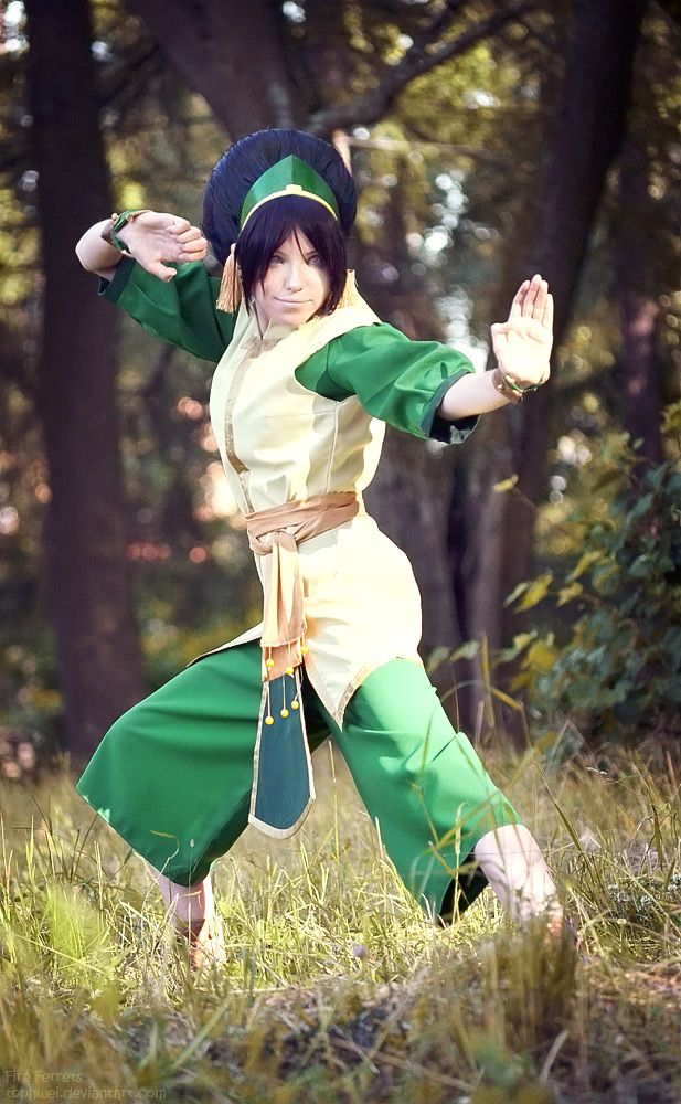 Toph Bei Fong -Avatar The Last Airbender by *TophWei on deviantART