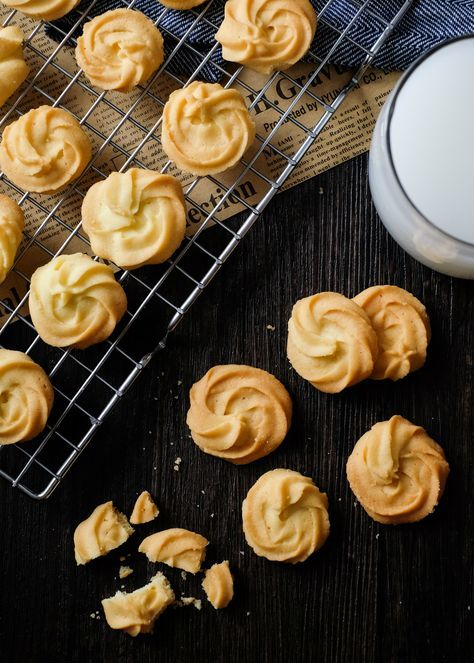 Best Butter Cookies Recipes!!! Oh boy they look good!!!!!!