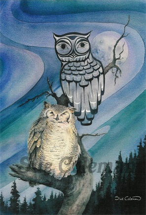 'The Owl' by Sue Coleman