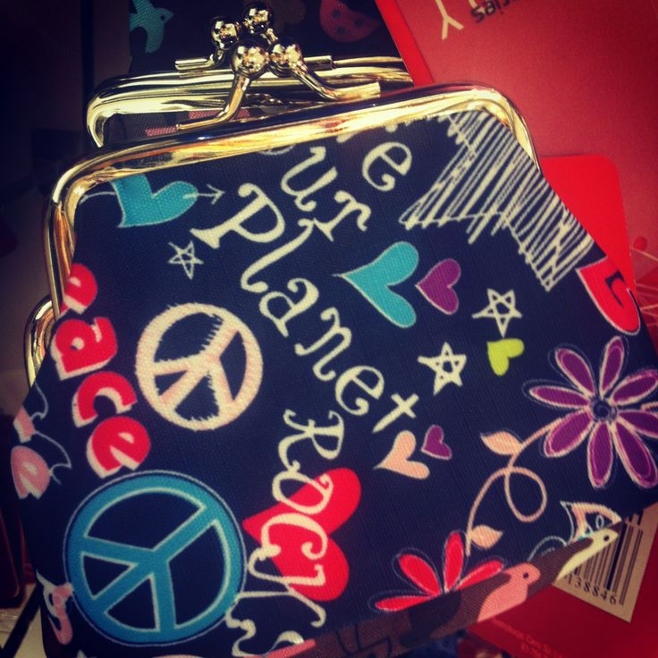 #purse#peace#pocket#money#carryworld