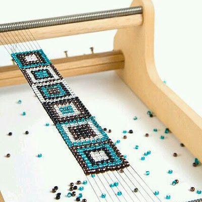 Musai Creaciones: Pulseras hechas a mano con la técnica del  telar