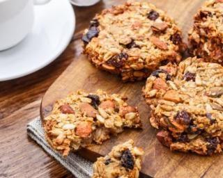 Cookies diététiques pour collation au bureau…