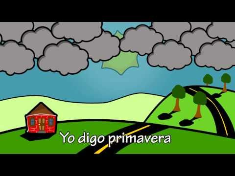 """The Seasons in Spanish"" - Las Estaciones with BASHO & friends - YouTube"
