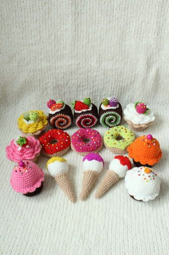 Evlynpartage: Patisserie gourmandise tuto crochet