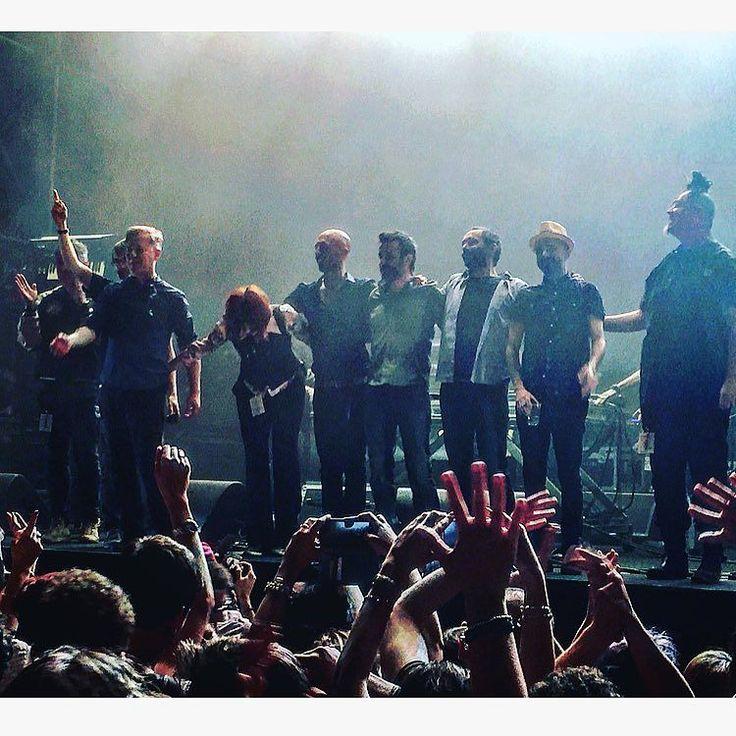 27/05/2016 - Buon XX Compleanno SubsOnicA ! (#28/2016)  #wirednextfest #wireditalia #solocosebelle #maggio2016 #may2016 #ilovemycity #ilovemilan #lamusicaringrazia #concerti2016 #livegigs #alive #succedeamilano #lifeismusic #musicislife #ilovemusic #instamusic #milanodasentire #milanodavedere #mondomarcio #machetewarriors #subsonica #buoncompleanno #celebration #danielesilvestri #cristinadona #madaski #africaunite #raschid #righeira by g43t4n0