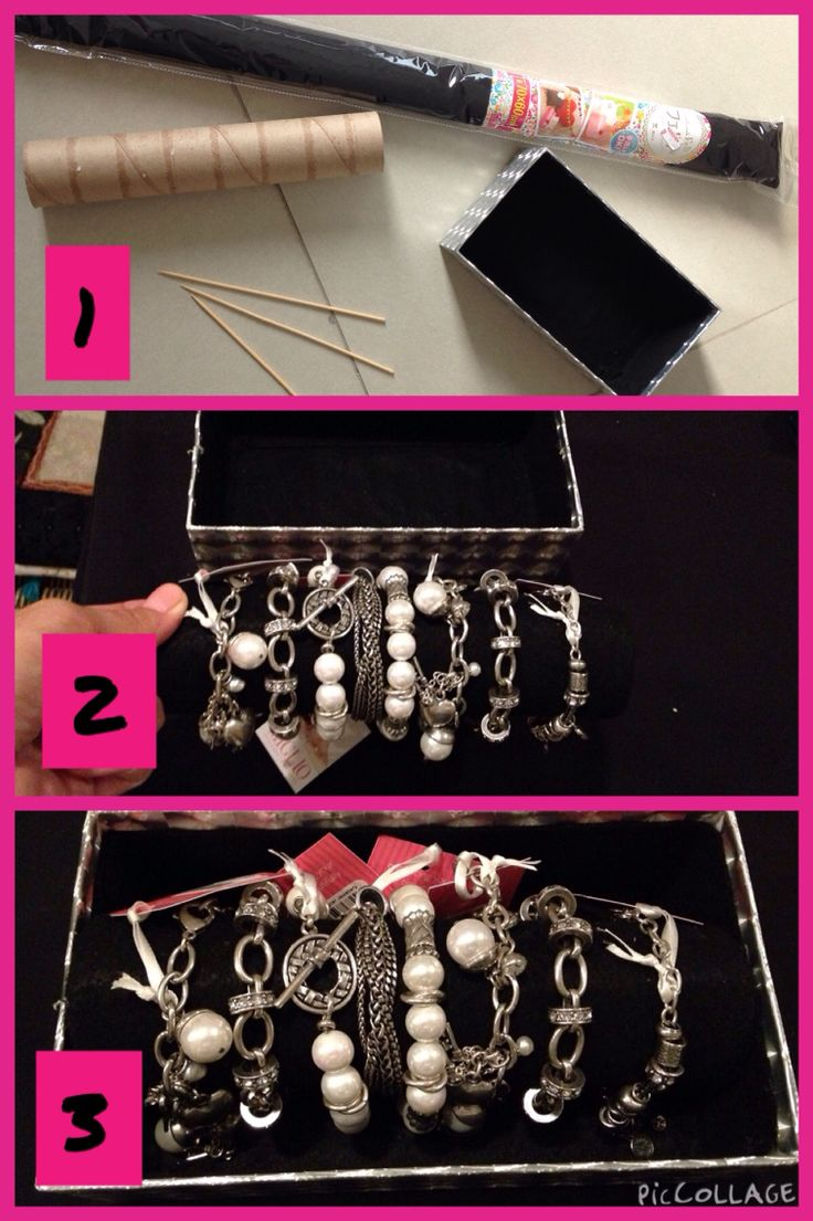 Bracelet display DIY