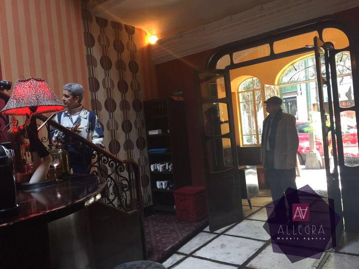 Grabación del vídeo musical para Calacas Jazz Band con la participación de nuestros talentos Pedro García y Connie Hertmann.