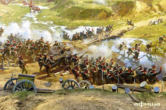 Отечественная война 1812 г.  Бородино -  панорама  Бородинского сражения