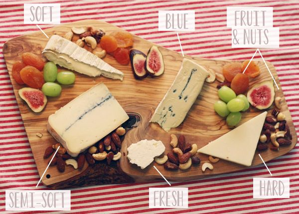 How to make the perfect Cheeseboard - via Oh So Lovely.