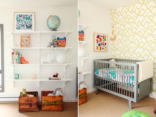 Colorful. Neutral. Functional. Fun. Danielle Oakey Interiors: A Lovely Nursery