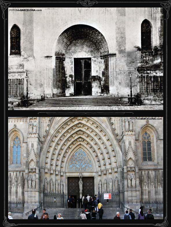 Durante cuatrocientos años, la fachada de la Catedral tenía un aspecto muy austero hasta que, a finales del siglo XIX y con motivo de la celebración de la …