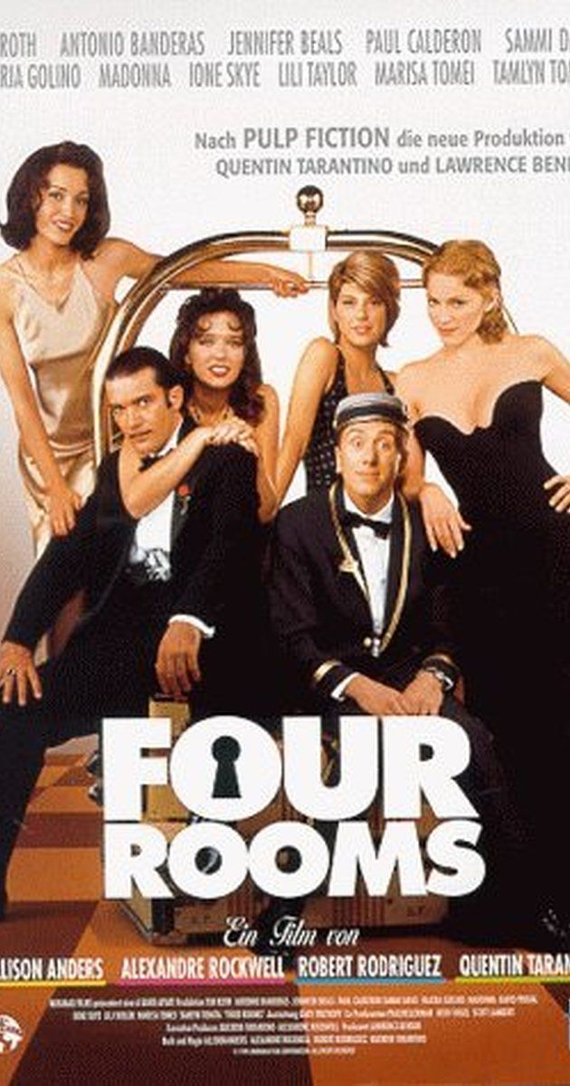Directed by Allison Anders, Alexandre Rockwell, Robert Rodriguez.  With Tim Roth, Amanda De Cadenet, David Proval, Jennifer Beals. Four interlocking tales that take place in a fading hotel on New Year's Eve.