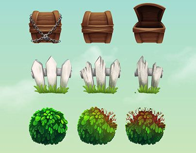 """Check out new work on my @Behance portfolio: """"Gnome Islands characters and game…"""