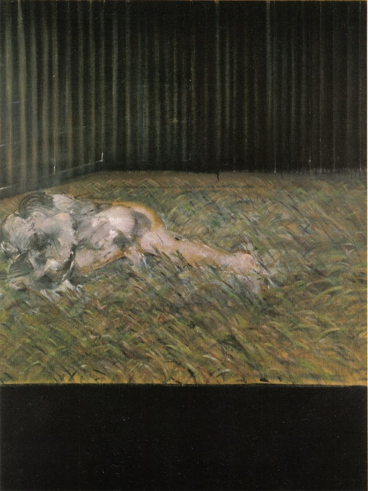 Bacon Two Figures in the Grass, 1954