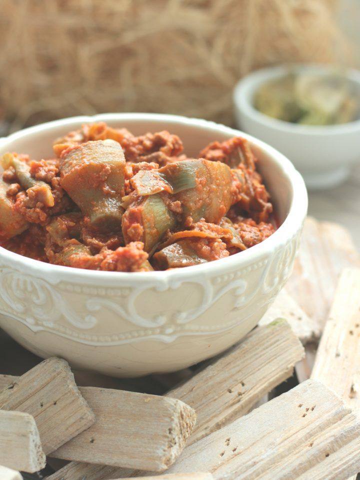 Veal Ragout with artichokes...So easy