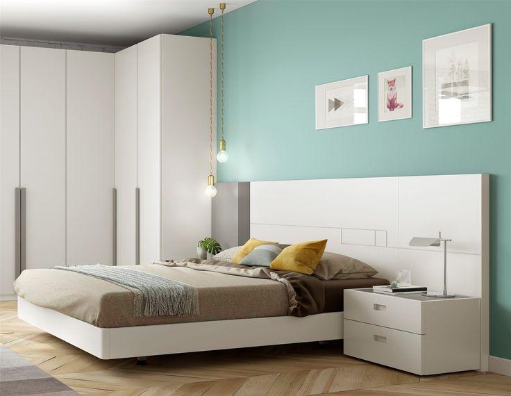 Guardia - GUAY Matt or High Gloss Lacquer Modern Bed