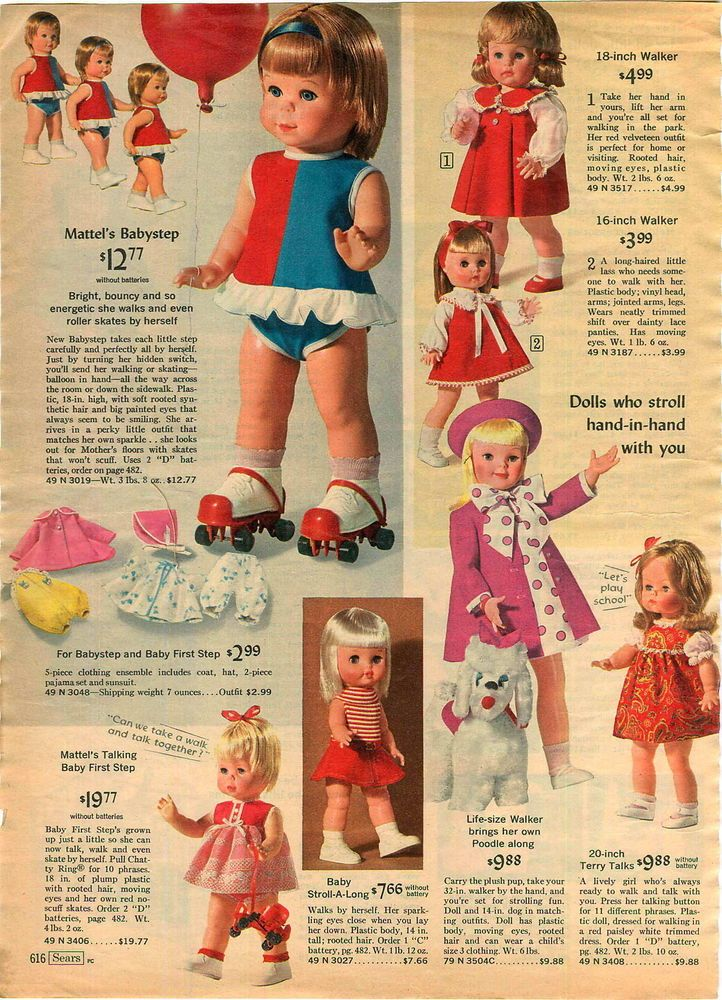 1960's Doll Advertisement