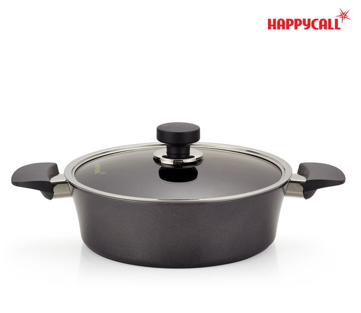 Happycall Stainless Steel Polished IH Cooking Sauce Pot Kitchen Cookware w/ Lid #Happycall