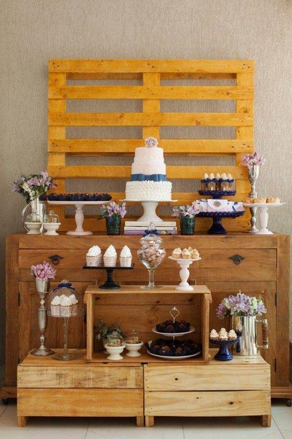 Inspiração de decoração para chá de panela, noivado ou mini wedding