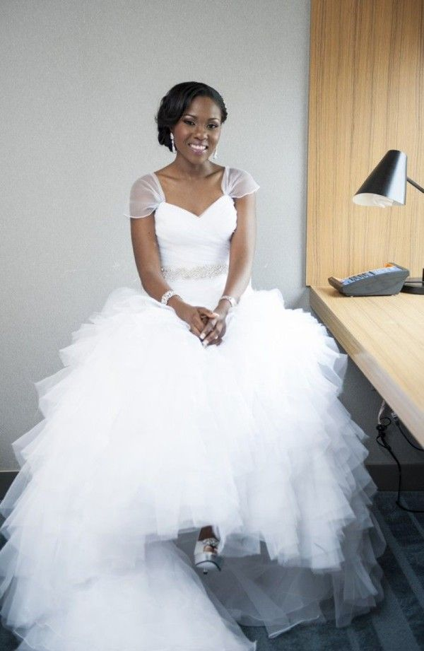 Best 25 nigerian wedding dress ideas on pinterest for Custom made wedding dresses dallas