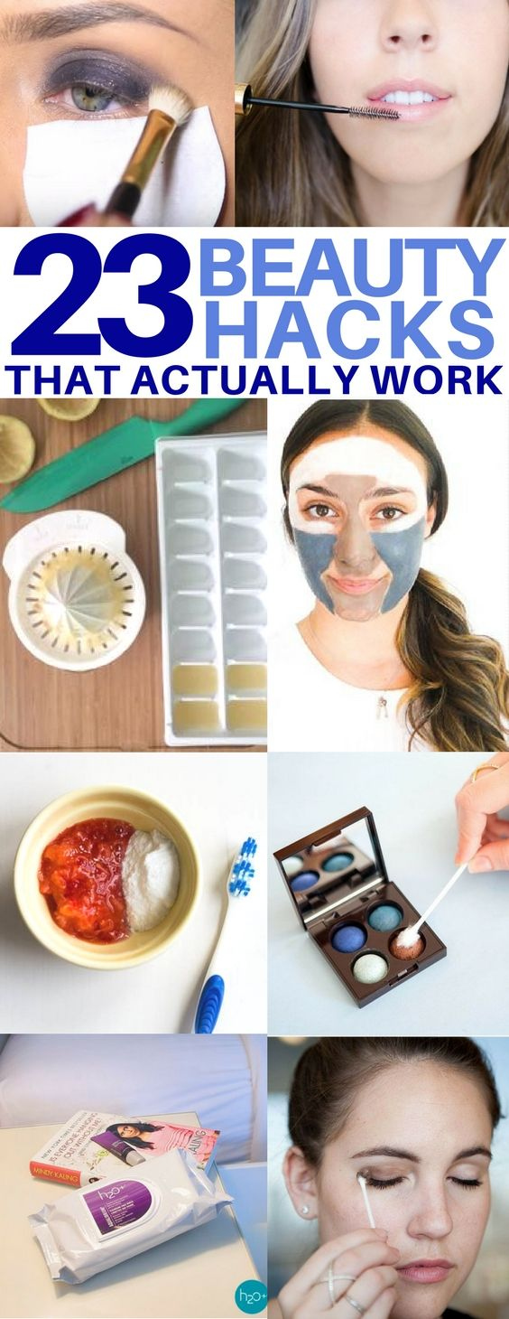 The BEST beauty hacks you'll regret missing! How to whiten your teeth, get r…